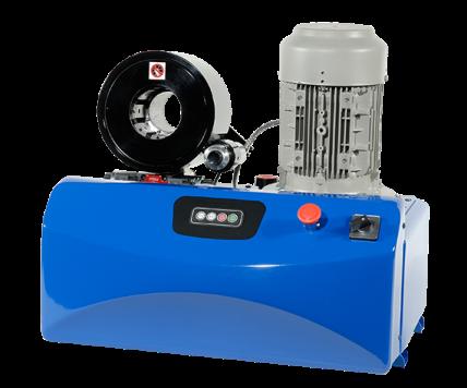 Оборудование для сборки рукавов высокого давления производства D-Hydro Oy
