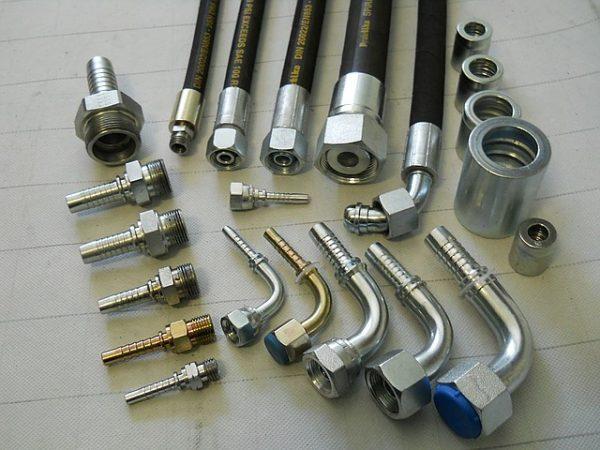 Трубные фитинги высокого давления, резьбовые соединения, фитинги для РВД